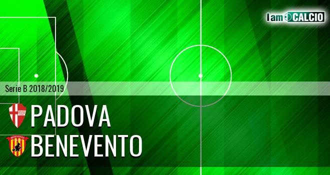 Padova - Benevento 0-1. Cronaca Diretta 27/12/2018