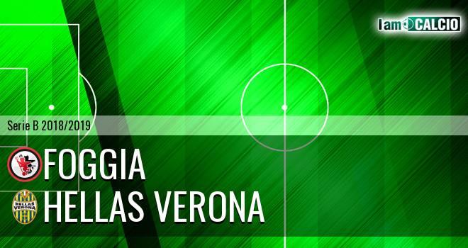 Foggia - Hellas Verona 2-2. Cronaca Diretta 30/12/2018