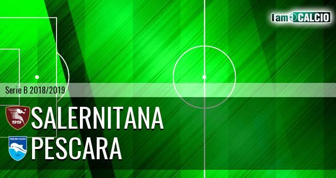 Salernitana - Pescara 2-4. Cronaca Diretta 30/12/2018