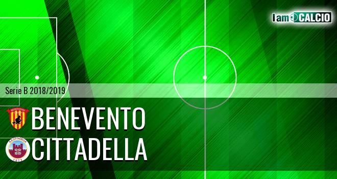 Benevento - Cittadella 1-0. Cronaca Diretta 16/02/2019