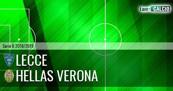 Lecce - Hellas Verona