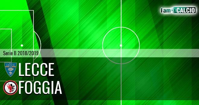 Lecce - Foggia 1-0. Cronaca Diretta 09/03/2019