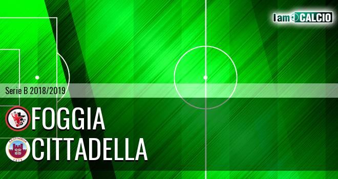 Foggia - Cittadella 1-1. Cronaca Diretta 16/03/2019