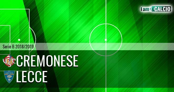 Cremonese - Lecce 2-0. Cronaca Diretta 07/04/2019