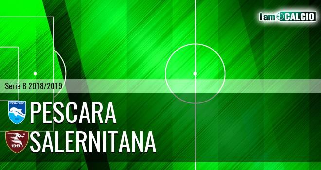 Pescara - Salernitana 2-0. Cronaca Diretta 11/05/2019