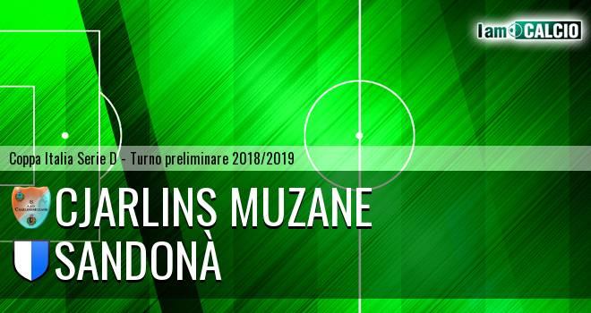 Cjarlins Muzane - Sandonà