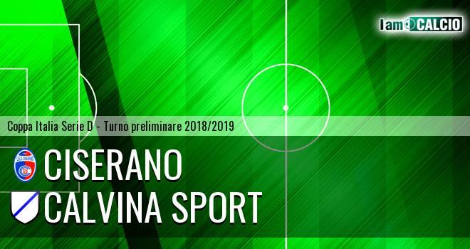 Ciserano - Calvina Sport
