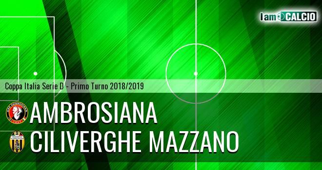Ambrosiana - Ciliverghe Mazzano