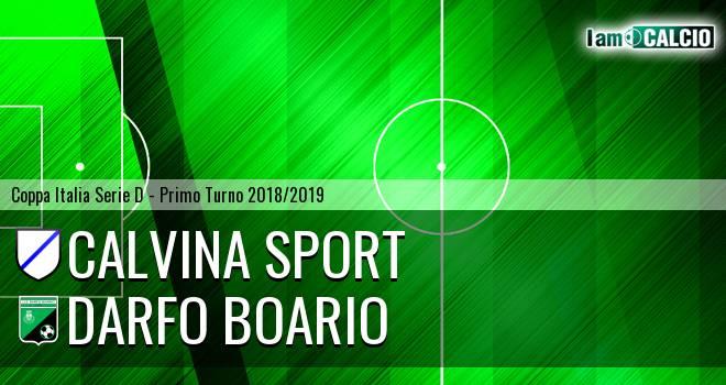 Calvina Sport - Darfo Boario