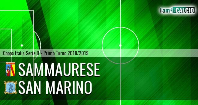 Sammaurese - Cattolica Calcio SM