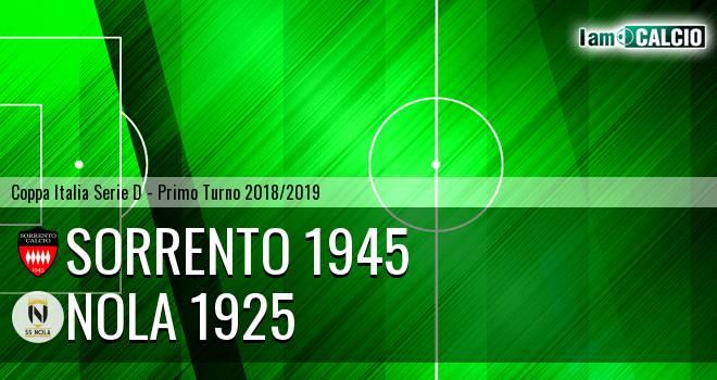 Sorrento 1945 - Nola