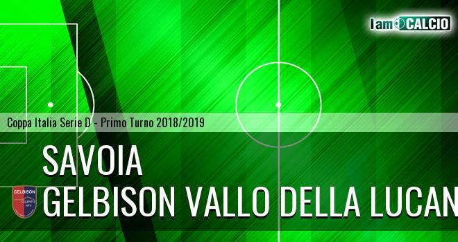 Savoia 1908 - Gelbison Vallo Della Lucania