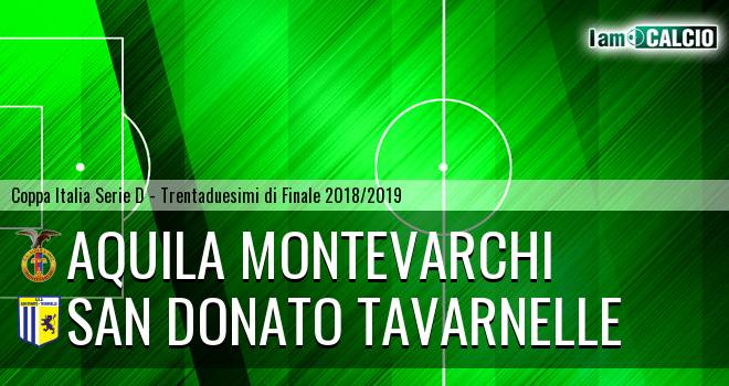 Aquila Montevarchi - San Donato Tavarnelle