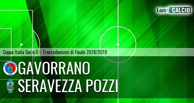 Gavorrano - Seravezza Pozzi