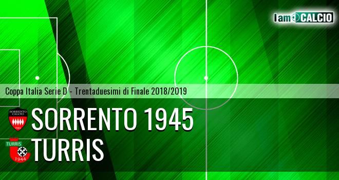 Sorrento 1945 - Turris