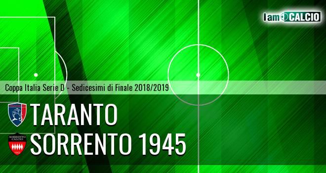 Taranto - Sorrento 1945