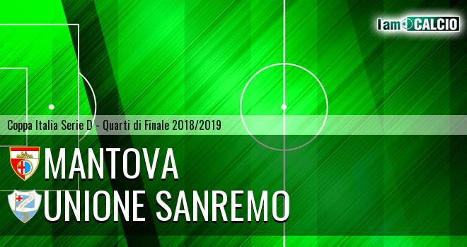 Unione Sanremo - Mantova 0-1. Cronaca Diretta 30/01/2019