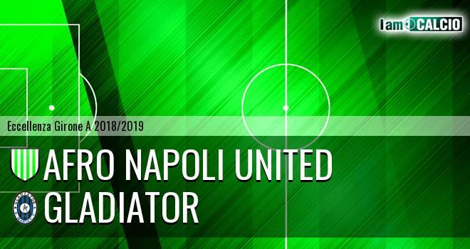 Afro Napoli United - Gladiator