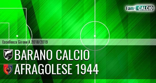 Barano Calcio - Afragolese 1944