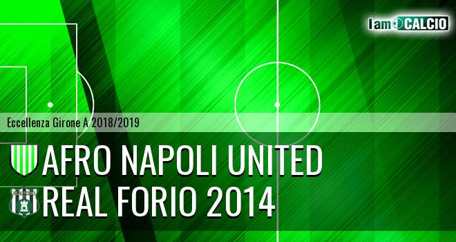Afro Napoli United - Real Forio 2014