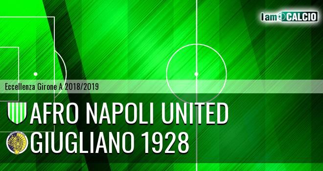 Afro Napoli United - Giugliano 1928