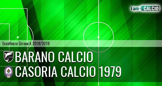 Barano Calcio - Casoria Calcio 1979