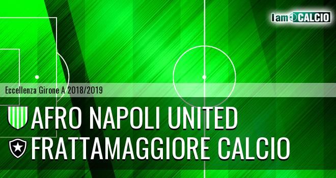 Afro Napoli United - Frattamaggiore Calcio