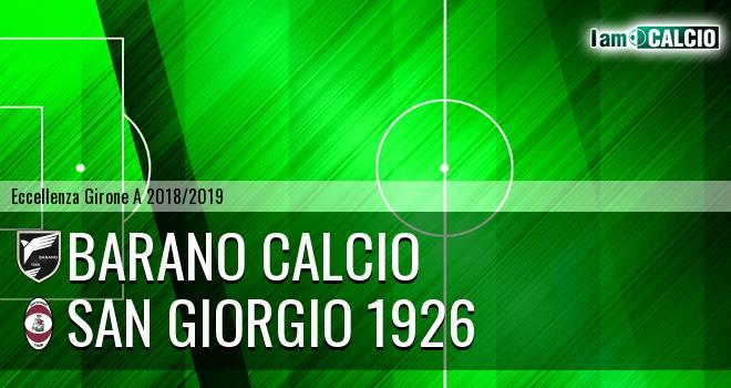 Barano Calcio - San Giorgio 1926