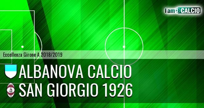 Albanova Calcio - San Giorgio 1926