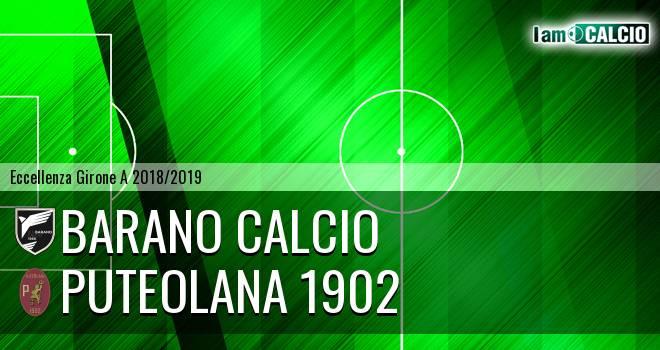 Barano Calcio - Puteolana 1902