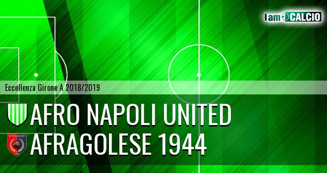 Afro Napoli United - Afragolese 1944