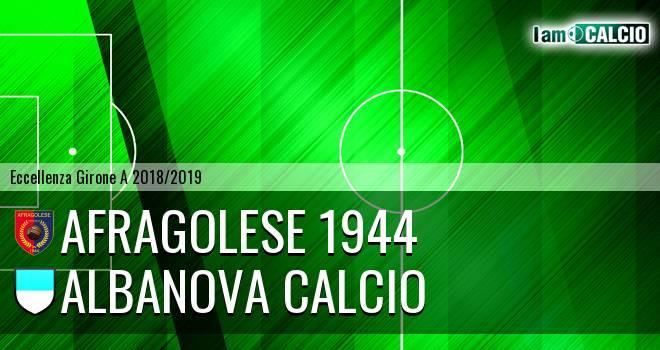 Afragolese 1944 - Albanova Calcio