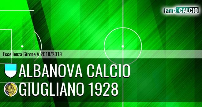 Albanova Calcio - Giugliano 1928