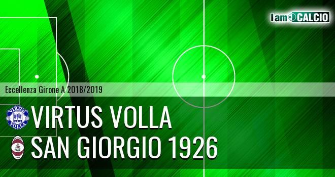 Virtus Volla - San Giorgio 1926