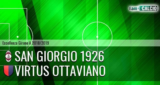 San Giorgio 1926 - Virtus Ottaviano