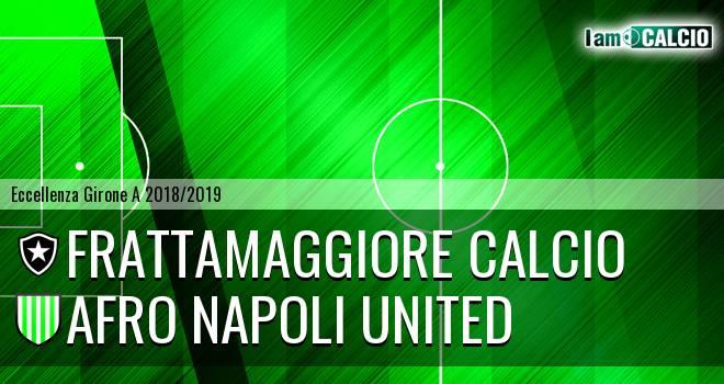 Frattamaggiore Calcio - Afro Napoli United