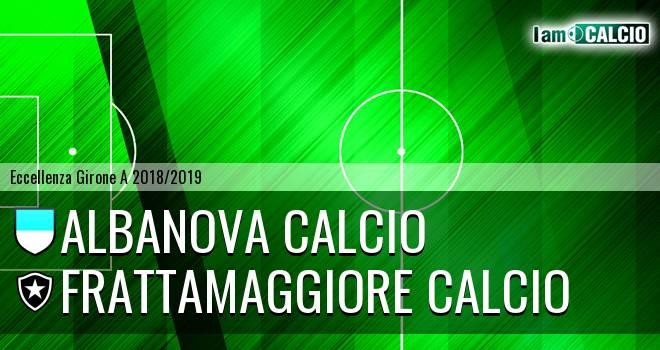 Albanova Calcio - Frattamaggiore Calcio