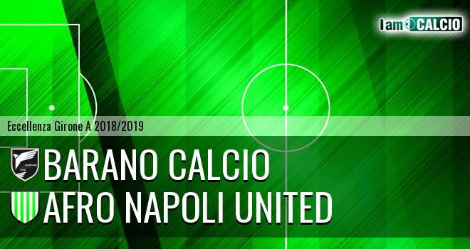 Barano Calcio - Afro Napoli United