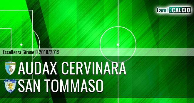 Audax Cervinara - San Tommaso