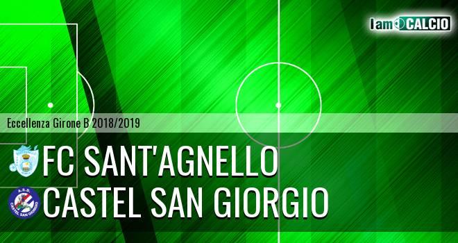 FC Sant'Agnello - Castel San Giorgio