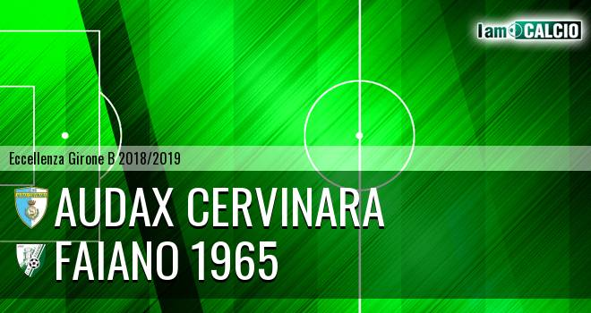 Audax Cervinara - Faiano 1965