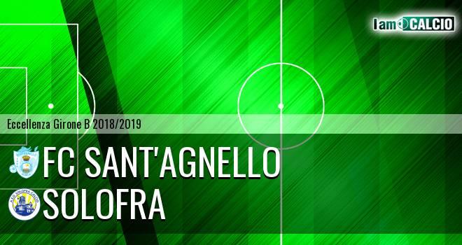 FC Sant'Agnello - Solofra