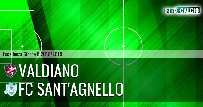 Valdiano - FC Sant'Agnello