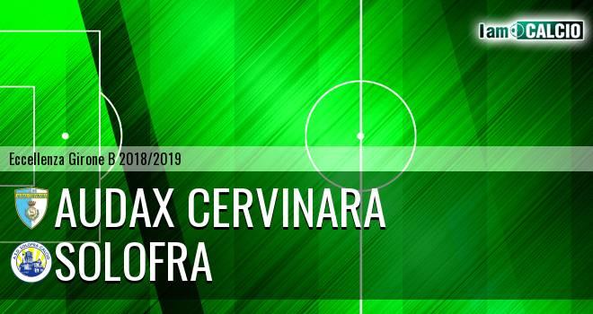 Audax Cervinara - Solofra