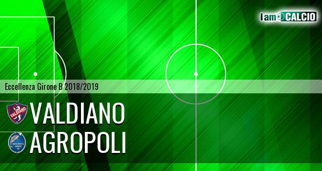 Valdiano - Agropoli 2-4. Cronaca Diretta 09/01/2019