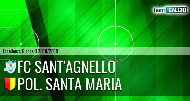 FC Sant'Agnello - Pol. Santa Maria