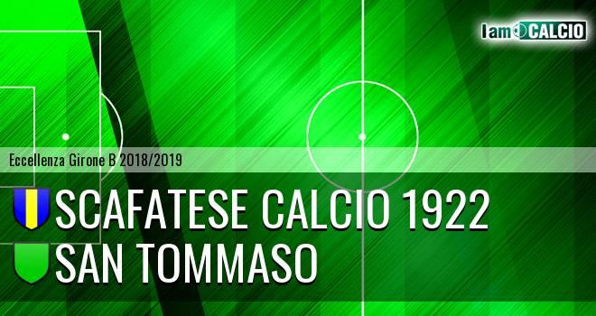 Scafatese Calcio 1922 - San Tommaso