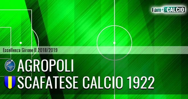 Agropoli - Scafatese Calcio 1922