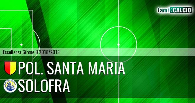 Pol. Santa Maria - Solofra