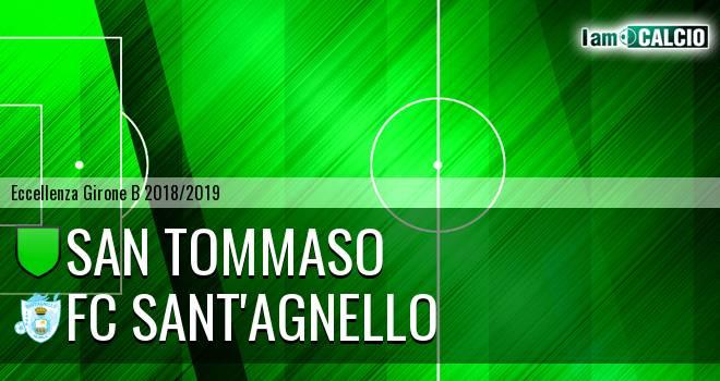 San Tommaso - FC Sant'Agnello